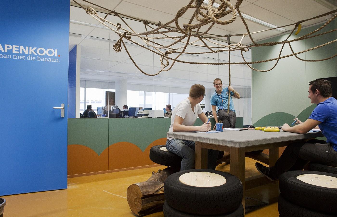 Neutrale Interieur Inrichting : Interieur coolblue rotterdam siebold nijenhuis architecten sna