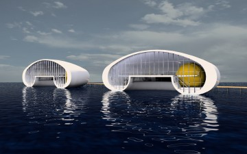 Drijvende paviljoens