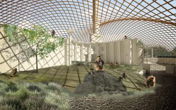 roofdierengebouw koepel dierentuin